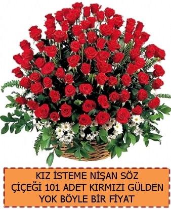 101 Güllü söz nişan kız isteme çiçeği  Ankara çiçek satışı