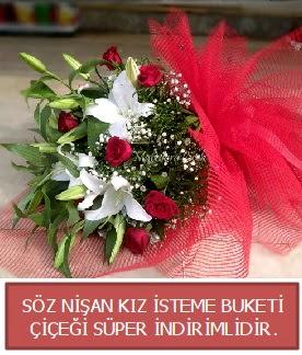 Söz nişan kız isteme buketi  Ankara çiçekçi telefonları