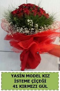 41 Adet kırmızı gül kız isteme çiçeği  Ankara çiçek gönderme sitemiz güvenlidir
