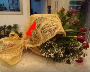 21 adet kırmızı gül kız isteme buketi  Ankara çiçek gönderme