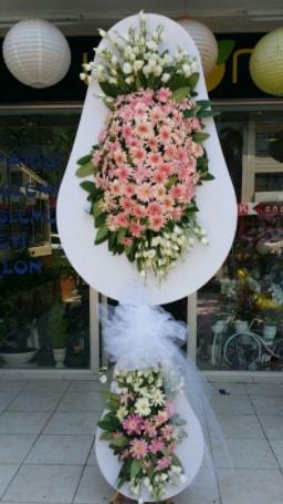 Çift katlı özel şahane sepet çiçeği  Ankara çiçekçi telefonları