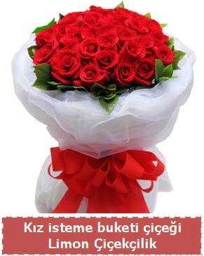 Kız isteme çiçeği buketi 29 kırmızı gül  Ankara çiçekçi telefonları