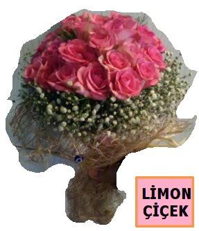 Pembe gül kız isteme söz nişan çiçeği  Ankara çiçek gönderme