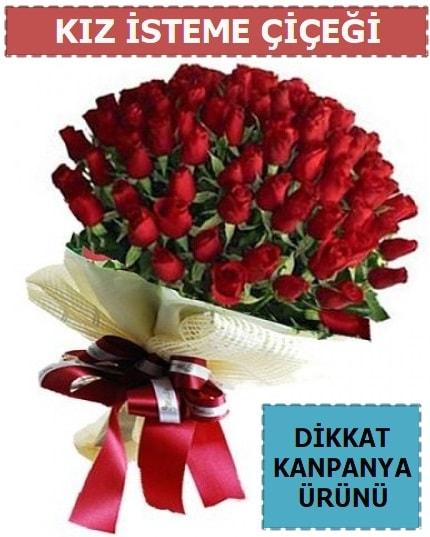 51 Adet gül kız isteme çiçeği buketi  Ankara İnternetten çiçek siparişi