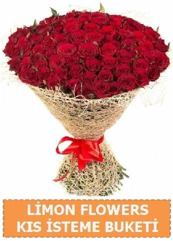 Kız isteme çiçeği modeli 61 adet gül  Ankara çiçek gönderme