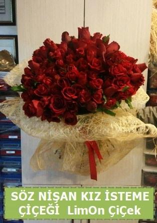 51 adet güllü Söz nişan kız isteme çiçeği  Ankara ucuz çiçek gönder