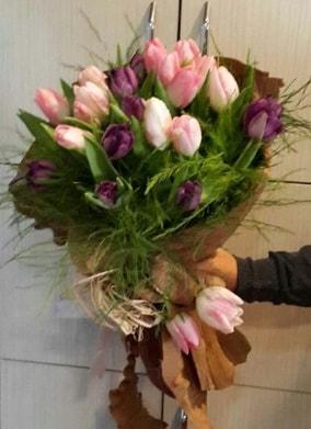 20 adet lale buketi çiçeği  Ankara İnternetten çiçek siparişi