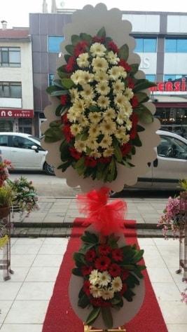 Çift katlı düğün açılış çiçeği  Ankara çiçek satışı