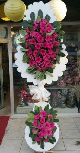 Çift katlı nikah çiçek düğün çiçekleri  Ankara ucuz çiçek gönder