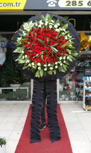 Cenaze çiçeği cenaze çelengi çiçek modeli  Ankara hediye çiçek yolla