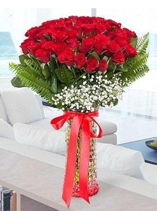 Vazoda 41 kırmızı Gül (Maşallah)  Ankara çiçekçiler