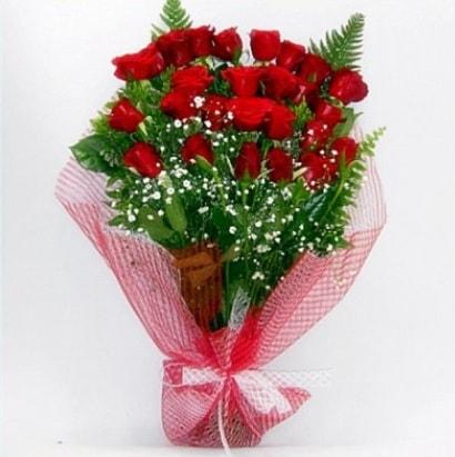 Kız isteme buketi çiçeği sade 29 adet gül  Ankara çiçekçi telefonları