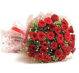 27 Adet kırmızı gül buketi  Ankara ucuz çiçek gönder