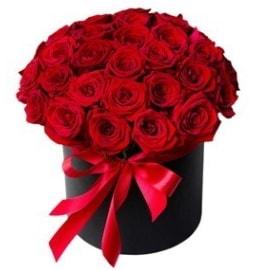 25 adet kırmızı gül kız isteme çiçeği  Ankara internetten çiçek satışı